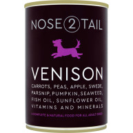 Nose 2 Tail Venison Dog Food
