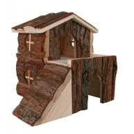 Trixie Bjork Log Cabin for Small Pets