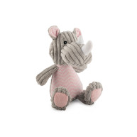 Ancol Knitted Rhino Dog Toy