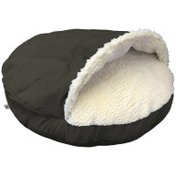 Snoozer Luxury Cozy Cave Dog Bed Dark Chocolate