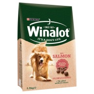 Winalot Complete with Salmon Dry Dog Food 2.5kg