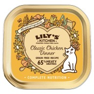 Lilys Kitchen Classic Chicken Dinner Complete Wet Cat Food