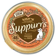 Lilys Kitchen Suppurrs Hunters Chicken with Duck Stew Wet Cat Food