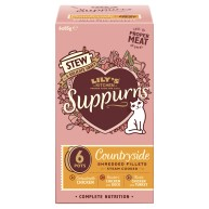 Lilys Kitchen Suppurrs Countryside Multipack Stews Wet Cat Food
