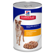 Hills Science Plan Canine Mature Adult 7+ Chicken Canned