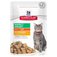 Hills Science Plan Perfect Weight Feline Adult Pouches