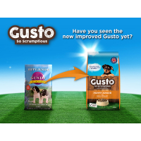 Gusto Complete Puppy & Junior Dog Food  12kg