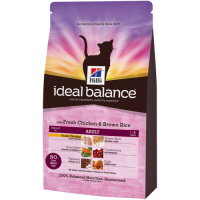 Hills Ideal Balance Feline Adult Chicken & Brown Rice 2kg