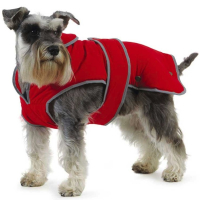 Ancol Muddy Paws Stormguard Red Dog Coat 30cm
