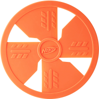 Nerf Dog Floating Flyer Dog Toy Orange