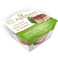 Applaws Layer Chicken with Lamb Cat Food 70g x 12