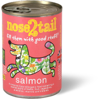 Nose 2 Tail Salmon Terrine Dog Food 395g x 12