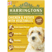 Harringtons Chicken & Potato Wet Dog Food 150g x 7