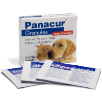 Panacur Wormer Granules for Dogs & Cats 1.8g x 1 Sachet NFA-DC