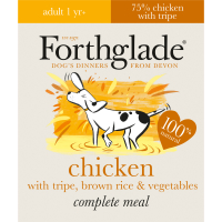 Forthglade Complete Chicken & Tripe Adult Dog Food 395g x 18