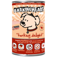 Barking Heads Turkey Delight Adult Wet Dog Food 400g x 6
