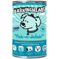 Barking Heads Fish N Delish Wet Adult Dog Food 400g x 6