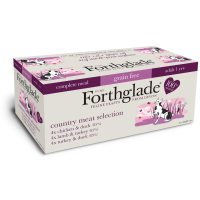 Forthglade Country Meat Selection Multipack Adult Cat Food 90g x 12