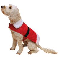 Rosewood Santa Christmas Dog Coat  Large 16.5""