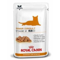 Royal Canin VCN Senior Consult Stage 2 Wet Pouches Cat Food 100g x 48