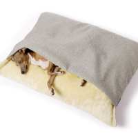Charley Chau Luxury Weave Snuggle Dog Bed Linen - Large