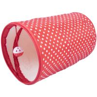 Good Girl Spotty Cat Tunnel  13.75""