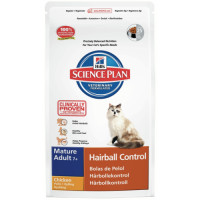 Hills Science Plan Feline Mature Adult 7+ Hairball Control 1.5kg