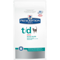Hills Prescription Diet TD Dry Cat Food 5kg
