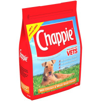 Chappie Dry Chicken & Wholegrain Cereal Adult Dog Food 3kg