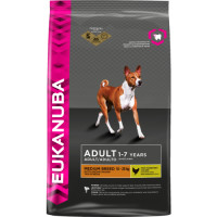 Eukanuba Chicken Medium Breed Adult Dog Food 12kg