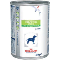 Royal Canin Veterinary Diabetic Special Low Carb Wet Dog Food 410g x 12