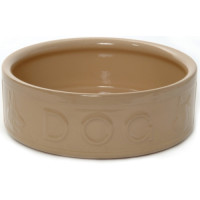 Mason Cash Lettered Ceramic Dog Bowl 25cm