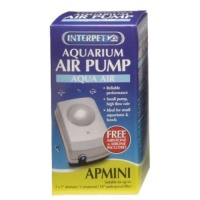 Interpet Aquarium Mini Air Pump with Airline & Airstone