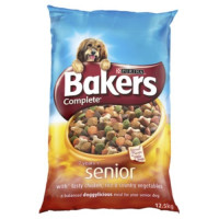 Bakers Complete Chicken & Rice Senior Dog Food 12.5kg