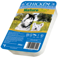 Naturediet Chicken Vegetables & Rice Dog Food 390g x 72