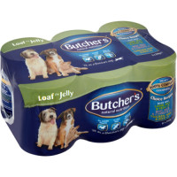 Butchers Choice Recipes in Jelly Dog Food  400g x 6