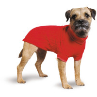 Ancol Muddy Paws Red Cable Knitted Dog Jumper Extra Small