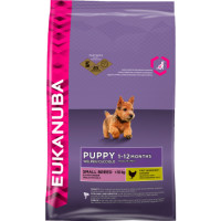 Eukanuba Chicken Small Breed Puppy Food 7.5kg