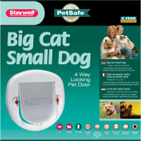 Petsafe Staywell 280 Big Cat Door White