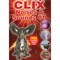 CLIX Training Loud Noises & Sounds CD