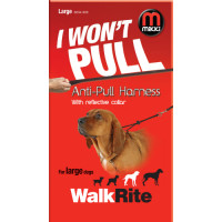 Mikki Walkrite Anti Pull Harness Lge