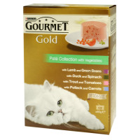 Gourmet Gold Pate Collection Cat Food x12