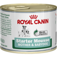 Royal Canin Starter Mother & Babydog Mousse Dog Food 195g x 12