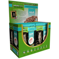 Natures Menu Chicken Salmon & Tuna Adult Cat Food Pouches 100g x 12