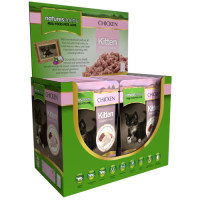Natures Menu Chicken Kitten Food Pouches 100g x 12