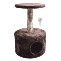 Ancol Hide Out Deluxe Cat Scratching Post