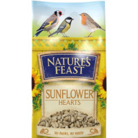 Natures Feast Premium Sunflower Hearts Wild Bird Food 12.75kg