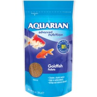 Aquarian Goldfish Pellet Fish Food 28g