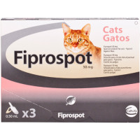 Fiprospot Spot On Cat 3 pipettes NFA-C
