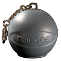 Baggee Doggee Poop Bag Holder Grey